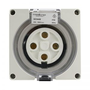 IP66 Socket Outlet 40A 500V AC 4 Pin