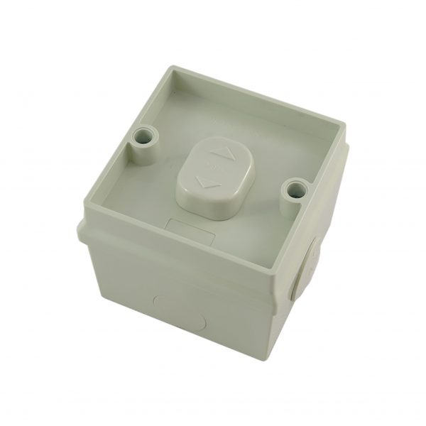 1 Gang Weatherproof Surface Switch16A 250V AC IP53