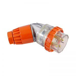 Angled Plug 50A 4 Pin 500V AC IP66