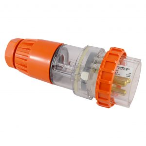 Straight Plug 40A 5 Pin 500V AC IP66