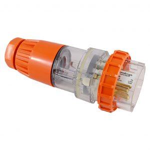 Straight Plug 50A 5 Pin 500V AC IP66