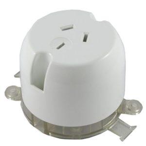 Deep Base Surface Socket Outlet 10A 250V AC
