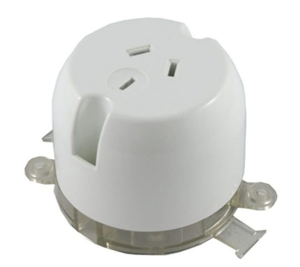 Deep Base Surface Socket Outlet 10A 250V AC