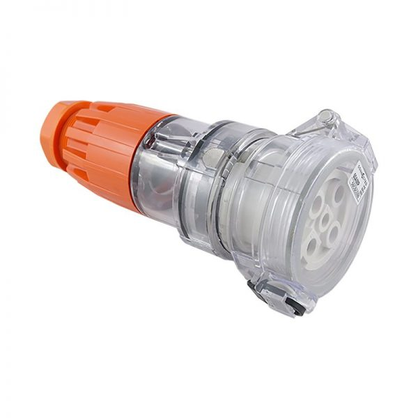 IP66 Extension Socket 5 Pin 40A 500V AC