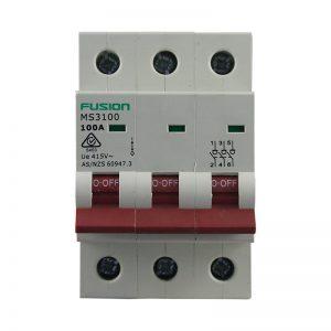 3 pole main switch