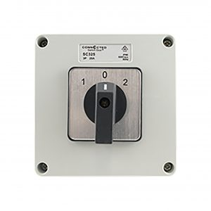25A Changeover Switch 3 Pole 500V AC IP55