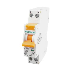 4.5kA Mini RCBO 6A 1 Pole C Curve