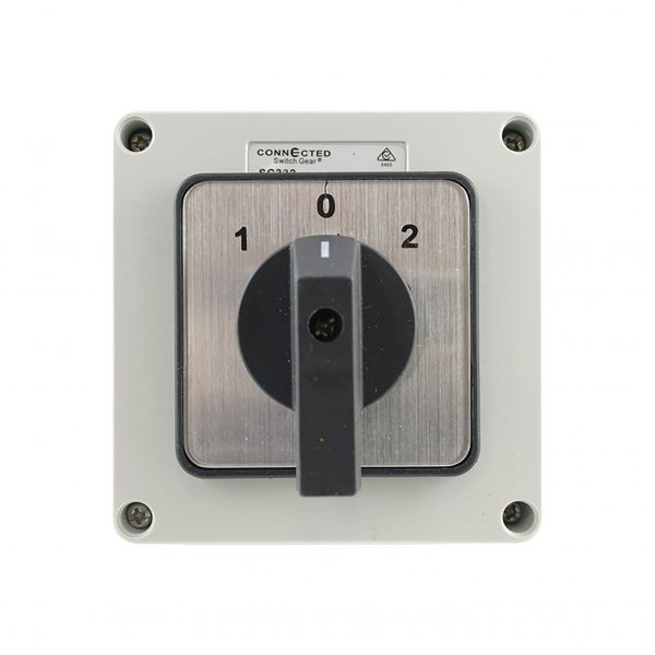 32A Changeover Switch 3 Pole 500V AC IP55