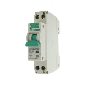 6kA Mini RCBO 16A 1 Pole C Curve