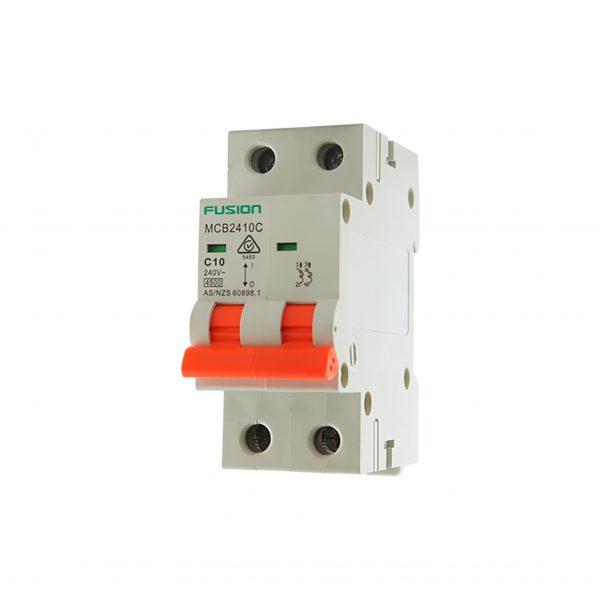 50A 2 Pole MCB 4.5ka mcb2450c
