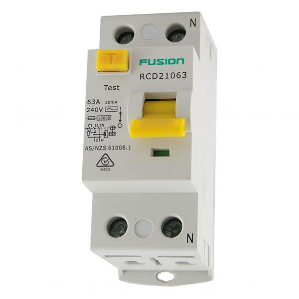 25a rcd safety switch 2 pole