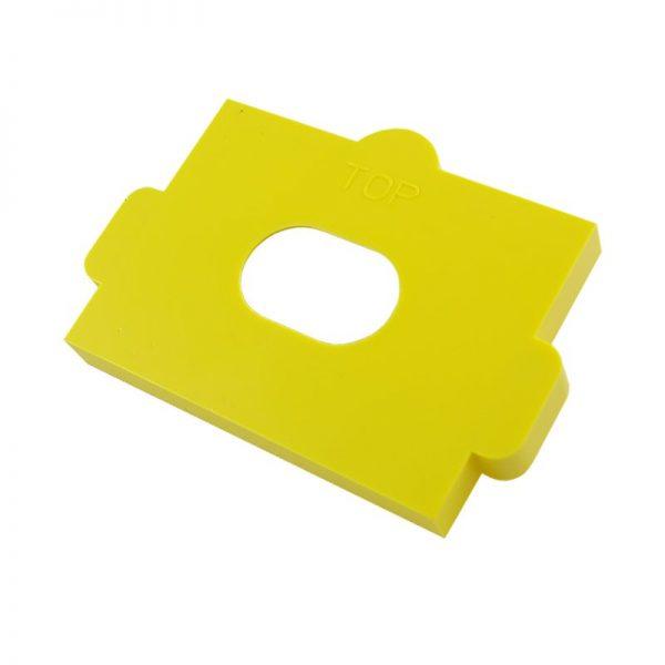 plaster bracket plastic cover