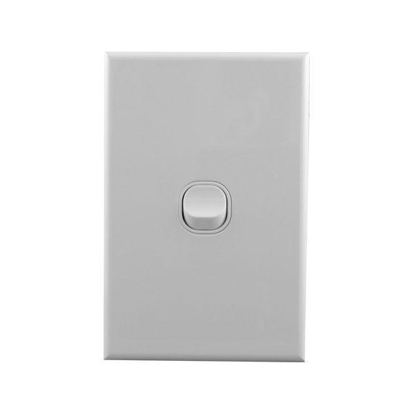 Light Switch 1 Gang 10amp 250V AC BASIX S