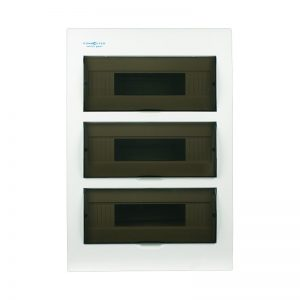 36 pole flush mount distribution board