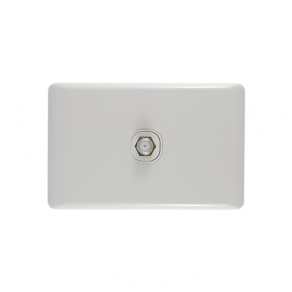 TV Plate F Type Connector 75 Ohms   BASIX Series