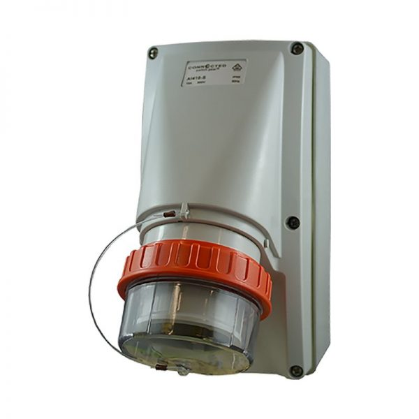 Appliance Inlet 40A 4 Pin 500V AC IP66