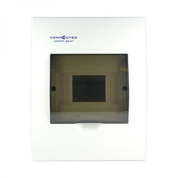 6 pole flush mount switchboard