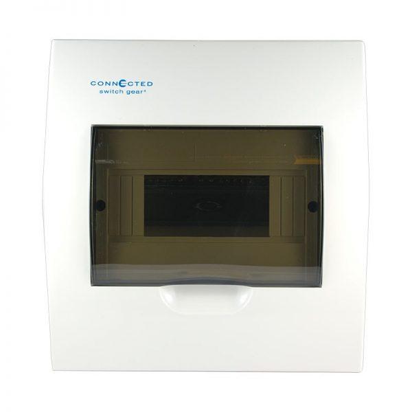 8 pole flush mount switchboard