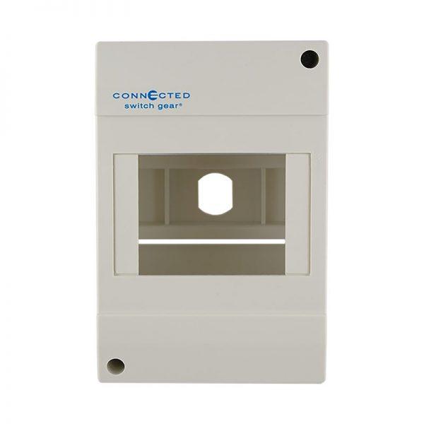 4 pole surface mount enclosure module