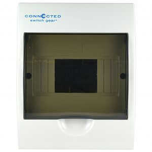 6 pole switchboard surface mount