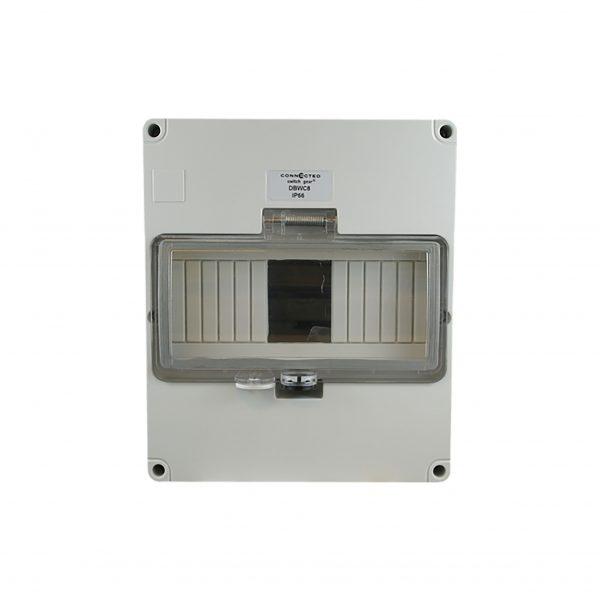 8 Pole Weatherproof Enclosure IP66