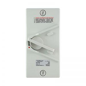 20A Isolator Switch Single Pole 250V AC IP66