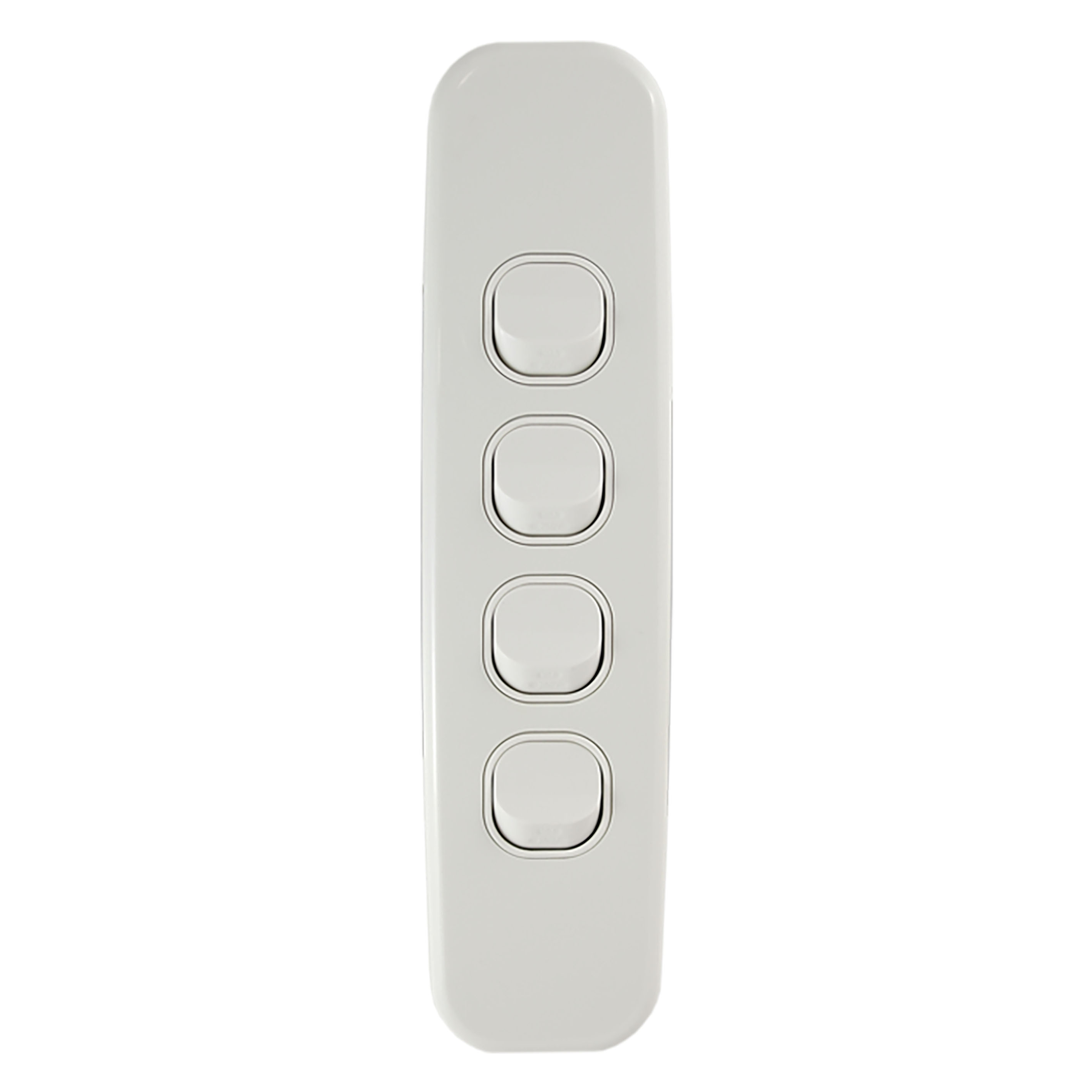 Buy a Light Switch Vertical 4 Gang Online in Australia from ...