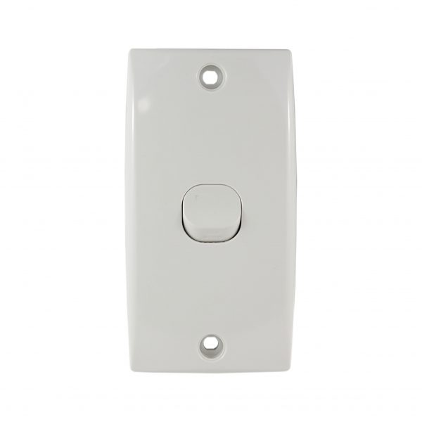 Intermediate Switch Plate 1 Gang 10A 250V AC 78mm Mounting Centre