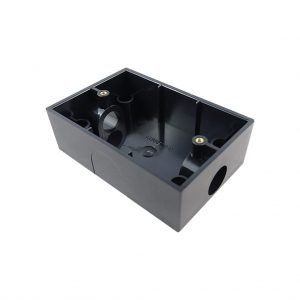 Enclosed Mounting Block 35mm BLACK
