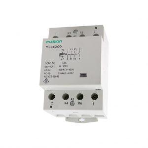 modular contactor 4 pole 40amp 2nc 2no