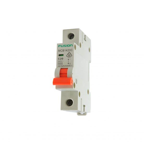 50a 1 Pole MCB 4.5ka mcb1450c
