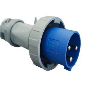 IP67 Plug 3 Pin 240V 125A