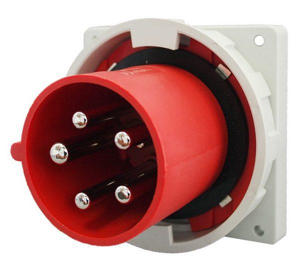 IP67 Inlet 5 Pin 400V 125A