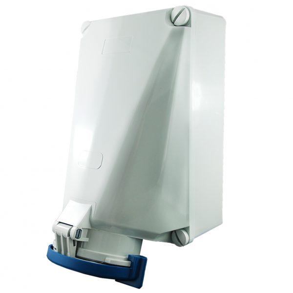 IP67 Wall Socket 3 Pin 240V 125A