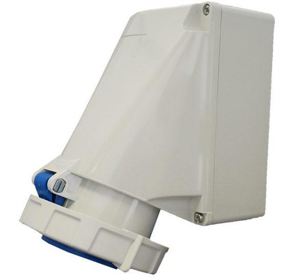 IP67 Wall Socket 3 Pin 240V 63A