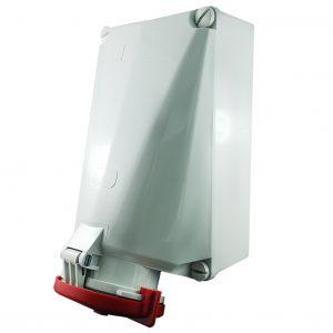 IP67 Wall Socket 5 Pin 125A 400V