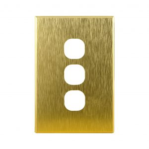 Brushed Brass Cover Plates