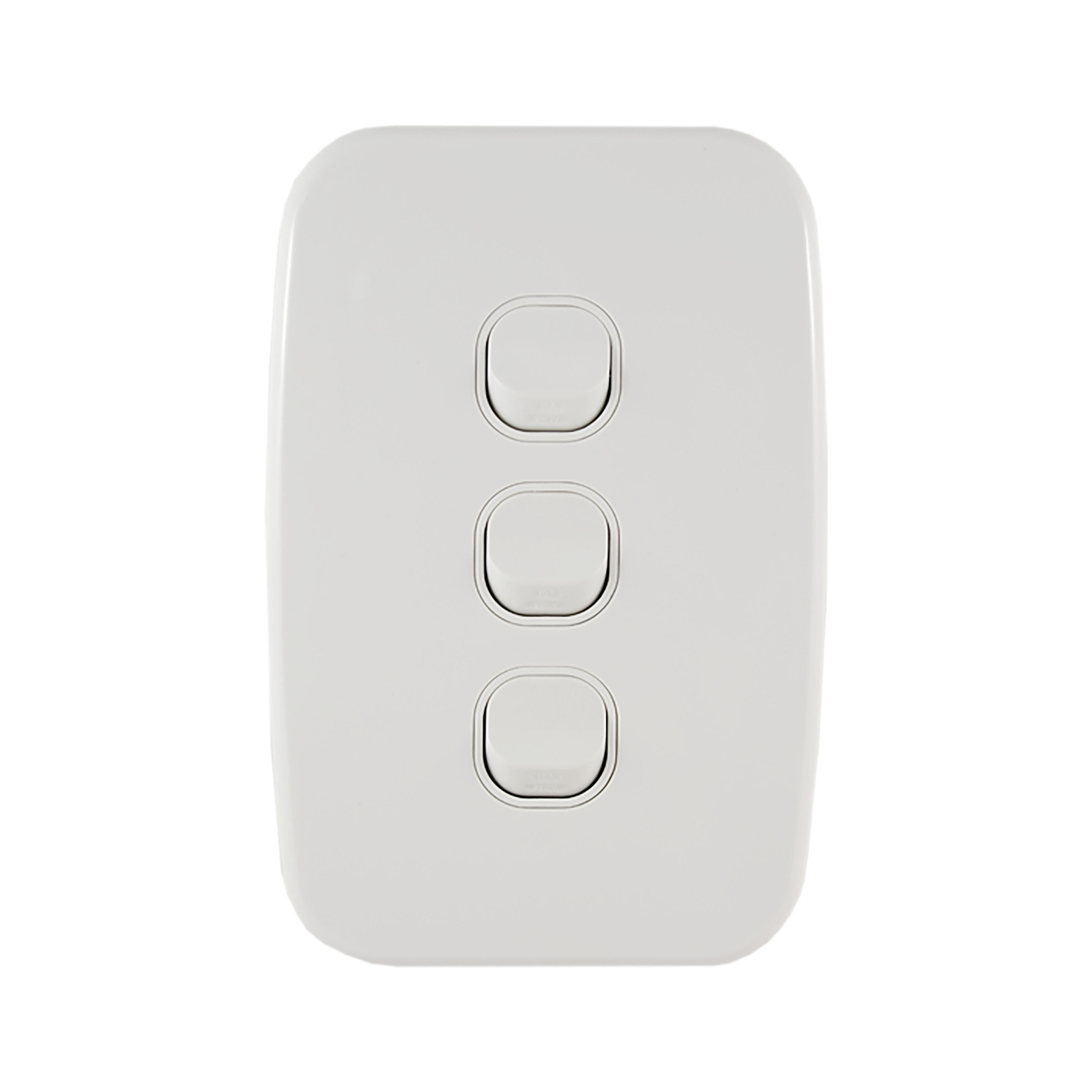 Buy A Light Switch Vertical 3 Gang Online In Australia From