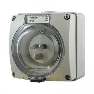 Appliance Inlet 3 Pin 15A 250V AC