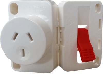 fast terminated outlet