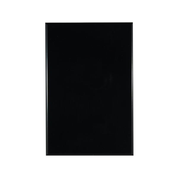 Blank Plate BLACK   BASIX S Series