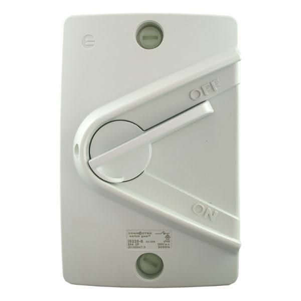 is220-s 20amp double pole isolator switch