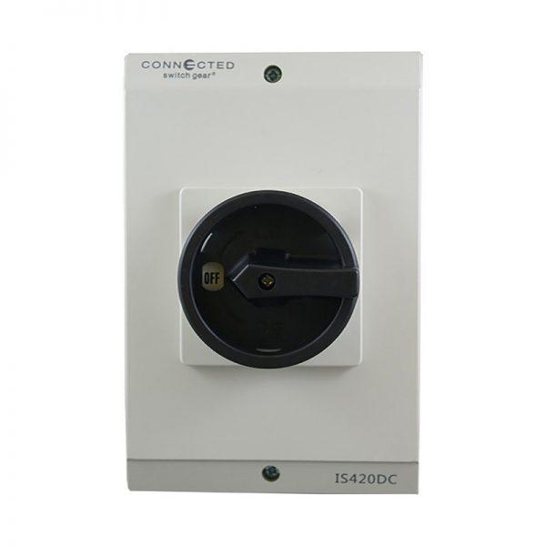 32A DC Isolator Switch 4 Pole 1000V DC IP66