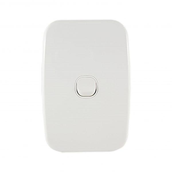 Light Switch 1 Gang Vertical 10A | LUNA Series