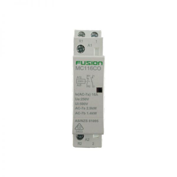 modular contactor 2 pole 16amp 1NC 1NO