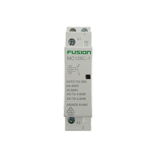 Modular Contactor 1 Pole 25 Amp 1NC