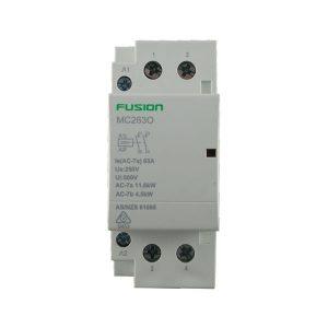 modular contactor 2 pole 63amp 2 NO