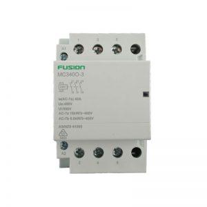 modular contactor 3 pole 40amp 3 NO