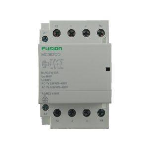 modular contactor 3 pole 63amp 2nc + 2no