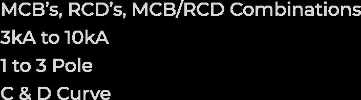 MCBS-RCDS-MCBS-COMBOS